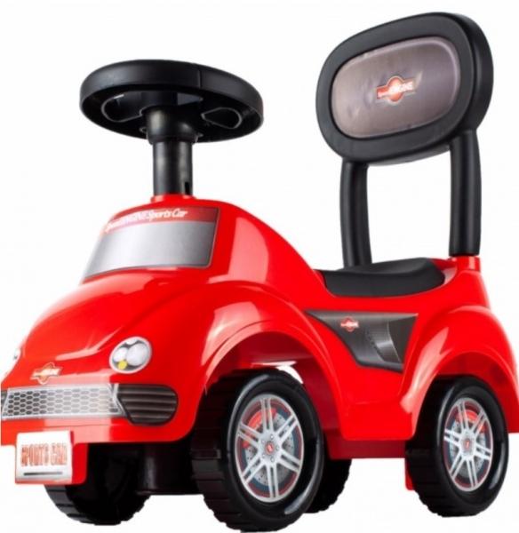 Tulimi Dětské odstrkovadlo, odrážedlo, jezdítko Sports Red, červené
