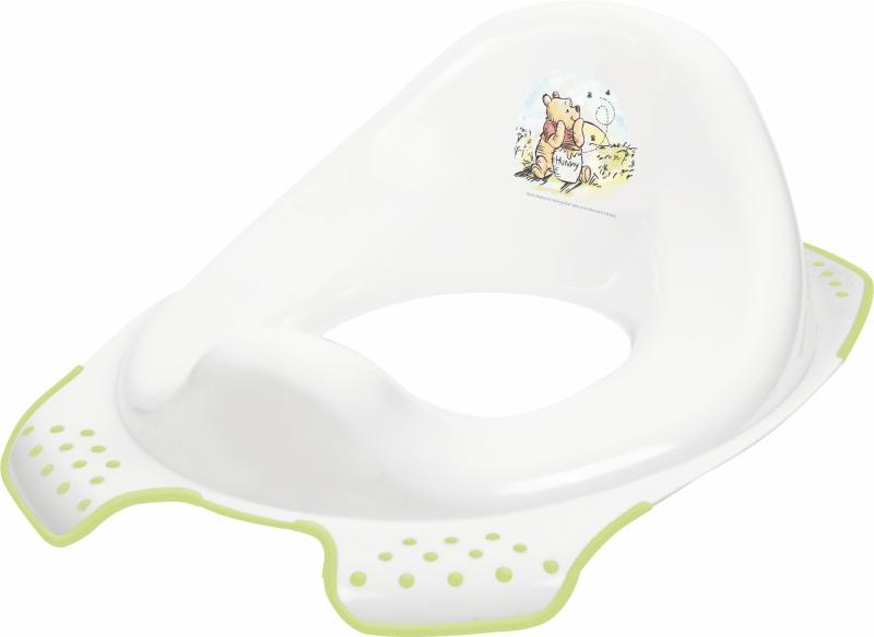 Keeeper Adaptér - treningové sedátko na WC - Medvídek Pú a přátelé - bílé