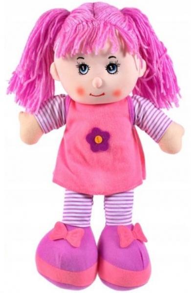 Tulimi Látková panenka Majka - fialové vlasy