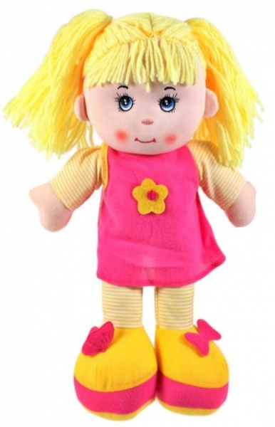 Tulimi Látková panenka Majka - žluté vlasy
