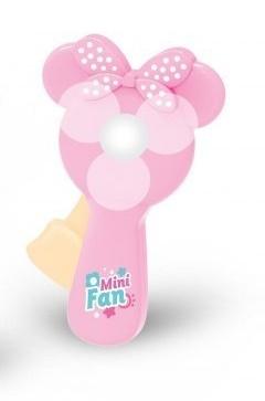 Edu a fun Ruční ventilátor Minnie, ružový