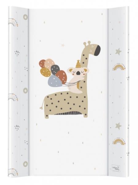Ceba Baby Přebalovací podložka Giraffe - tvrdá, 50 x 80 cm
