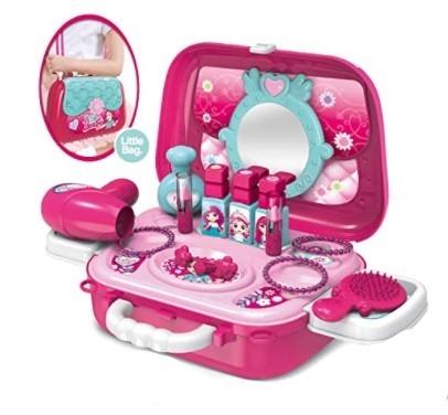 Tulimi Dětský toaletní kufřík Fashion Girl - růžový