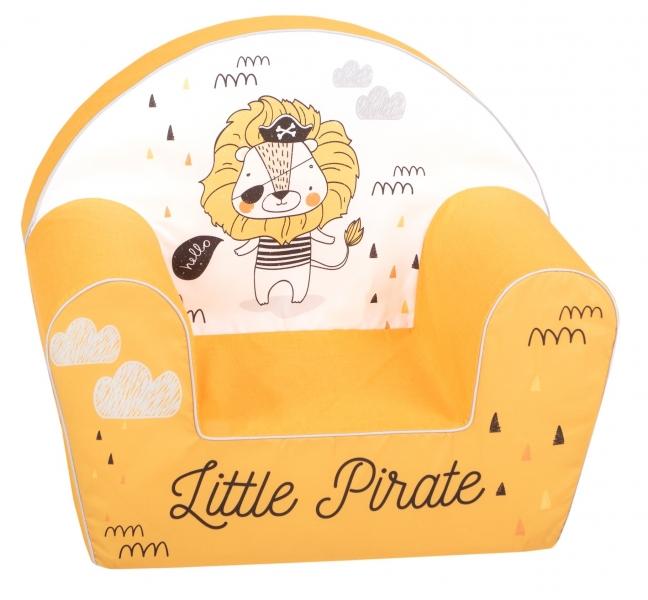 Delsit Dětské křesílko, pohovka - Little Pirat Lion