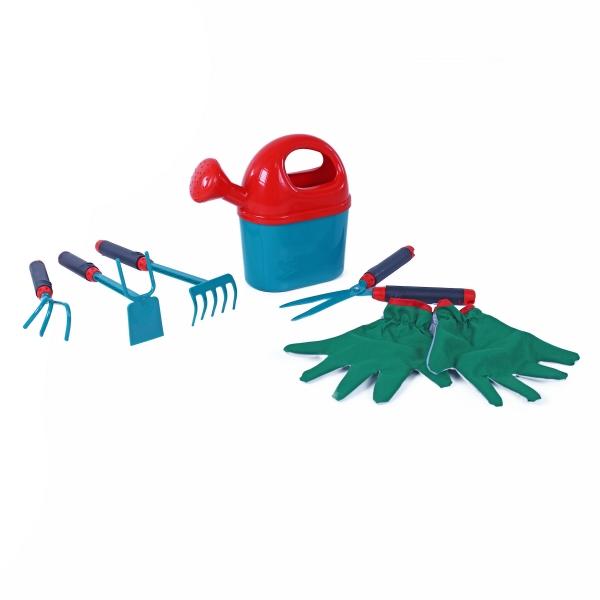 Zahradní set 6 ks s rukavicemi