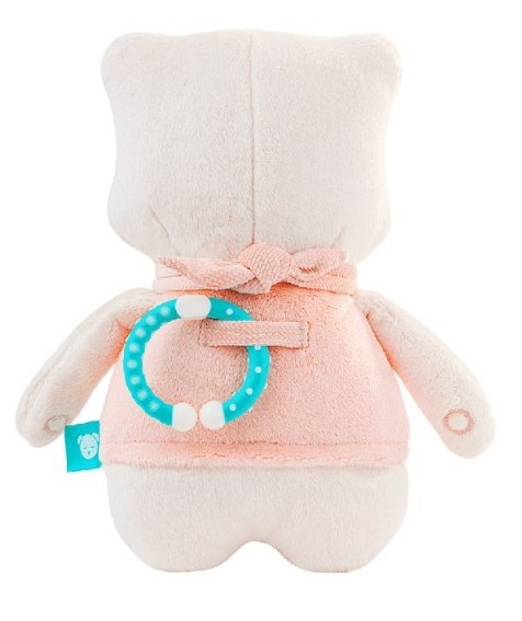 Szumisie Šumící mazlíček Medvídek Suzy, 25 cm - růžový/béžová