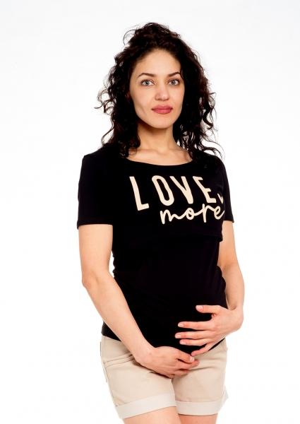 Be MaaMaa Těhotenské kraťasy Jeans - béžové