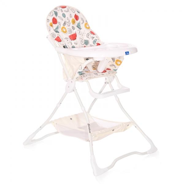 Jídelní židlička Lorelli BONBON WHITE FRUITS