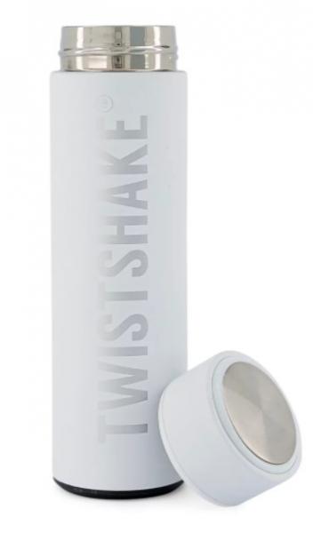 Termoska Twistshake Hot or Cold, 420 ml, bílá