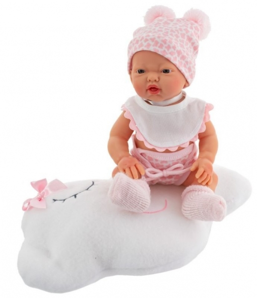 Nines Luxusní panenka  Golosinas na mráčku s vůní vanilky - 26 cm
