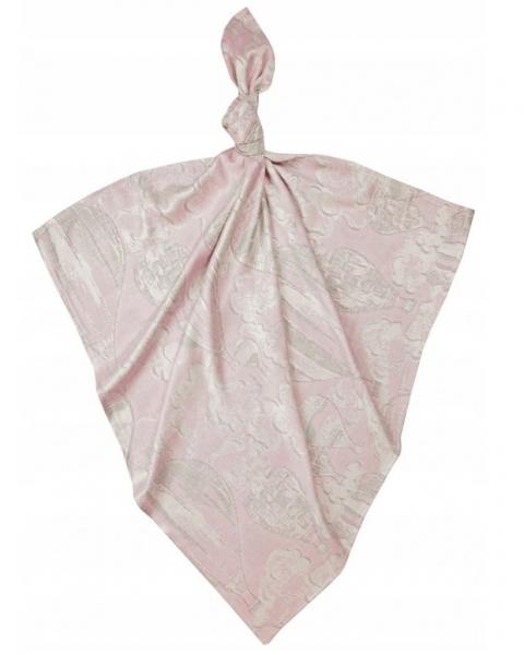 Bambusová plenka Baby Nellys ® - dívčí vzor, 75 x75 cm