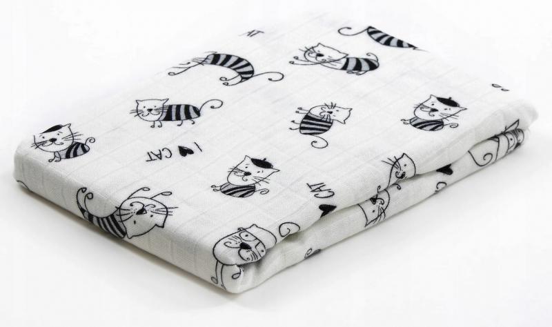 Bambusová plenka Baby Nellys ® - neutrální vzor, 30 x 35cm