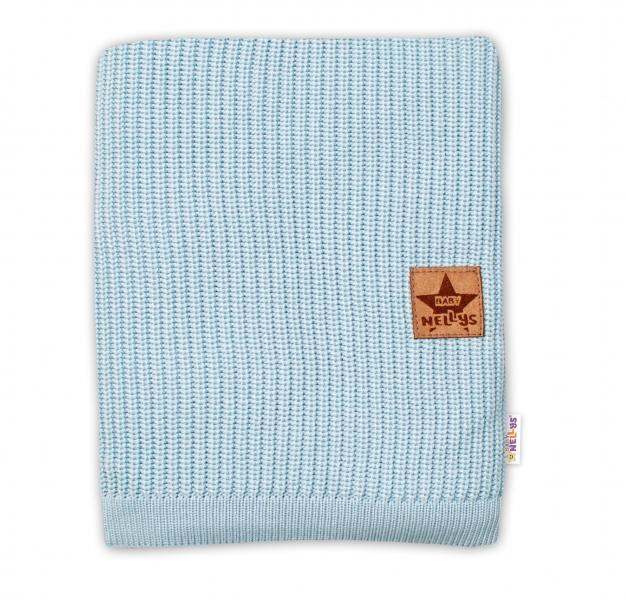 Baby Nellys Luxusní bambusová dětská deka, 75x100 cm, mátová
