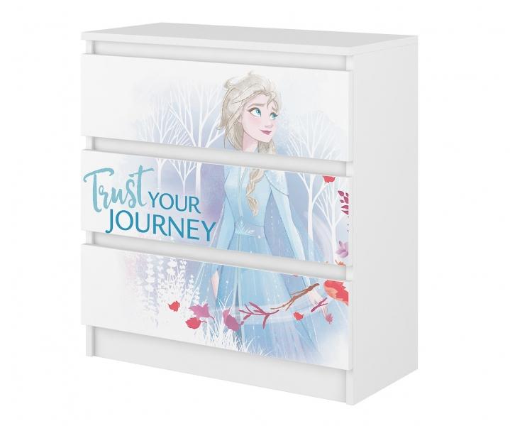 BabyBoo Disney dětská komoda - Frozen II