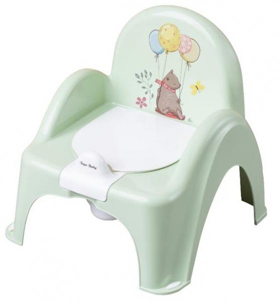 Tega Baby Nočník/židlička Medvídek - sv. zelený