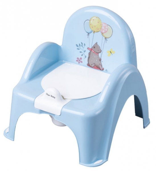 Tega Baby Nočník/židlička Medvídek - modrý