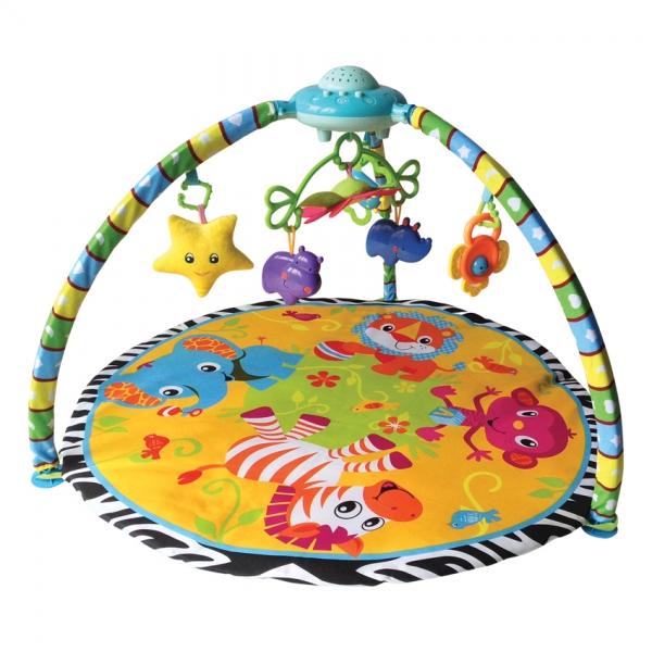 Hrací deka s hrazdou Lorelli PROJECTOR 83x83