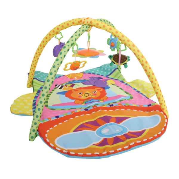 Hrací deka s hrazdou Lorelli PLANE 93X73