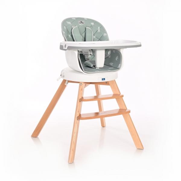Jídelní židlička Lorelli s otočným sedákem NAPOLI BLUE SURF BEARS