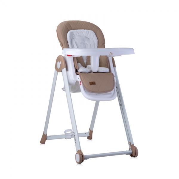 Jídelní židlička Lorelli PARTY BEIGE PU LEATHER