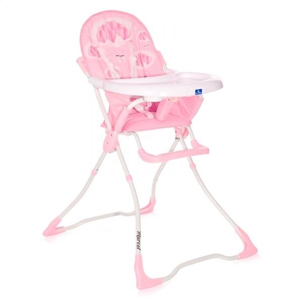 Jídelní židlička Lorelli MARCEL PINK HEARTS