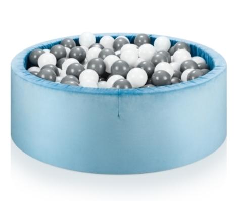 NELLYS Bazén pro děti 99x35cm + 150 balónků - modrý