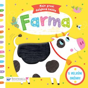 Knížka/leporelo Moje první dotyková knížka Farma