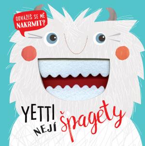 Knížka/leporelo Yetti nejí špagety