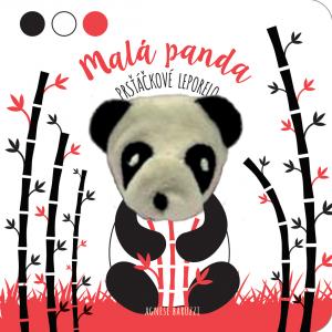 Knížka/leporelo Malá panda - prsťáčkové leporelo