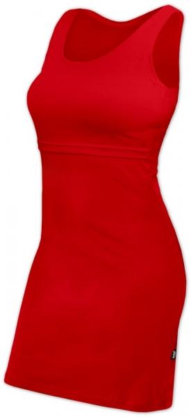JOŽÁNEK Kojící šaty bez rukávů ELENA - červené, vel. L/XL