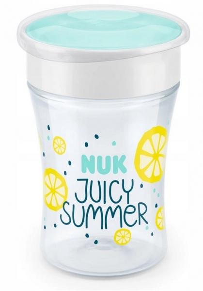 Hrneček NUK Magic Cup 230 ml - Fruits - žlutý