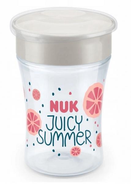 Hrneček NUK Magic Cup 230 ml - Fruits - růžový