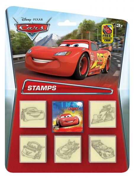 Rappa Razítka 5+1 CARS - Auta
