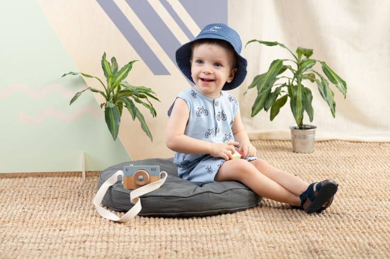 Pinokio Body s nohavičkami Summertime -  Kola - modré