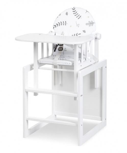 Klups Jídelní stoleček Lily - bílá
