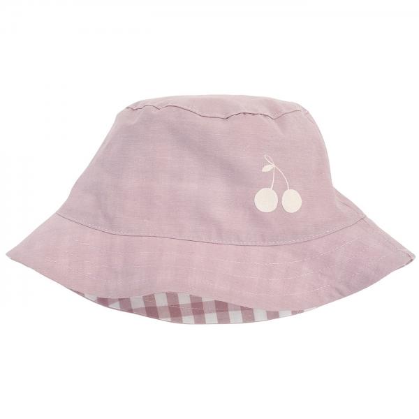Pinokio Letní, jarní klobouček Sweet Cherrry - lila