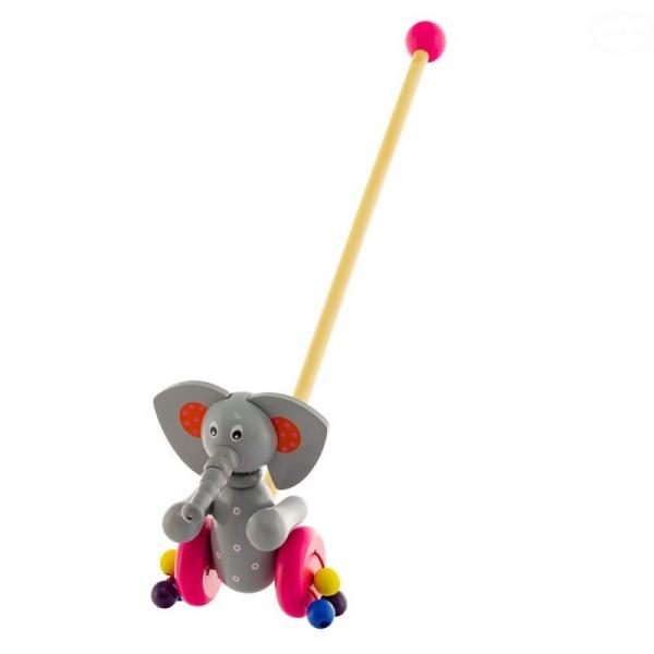 Tulimi Dřevěná jezdící hračka - Sloník