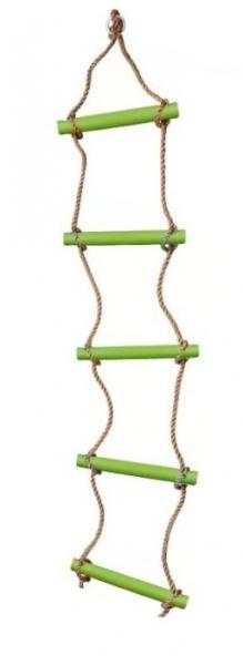 Dvěděti Lezecký žebřík s příčkami - zelený