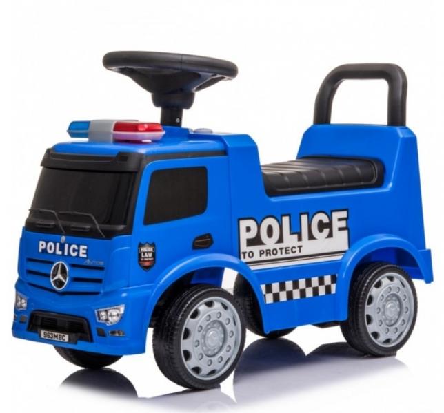 Tulimi Jezdítko, odrážedlo Mercedes - Policie  - modré