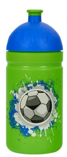 R&B Mědílek s.r.o. Zdravá láhev - 0.5l - Fotbal, zelená