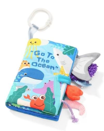 BabyOno Měkká senzorická knížka - Oceán