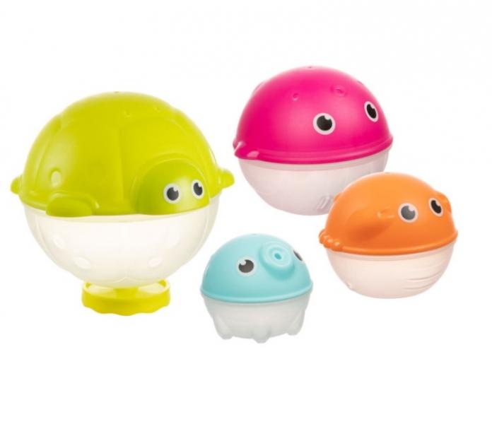 Canpol babies Sada kreativních hraček do vody se sprchou, OCEÁN