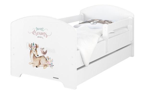 BabyBoo Dětská postel 140 x 70cm -  Sweet Dreams