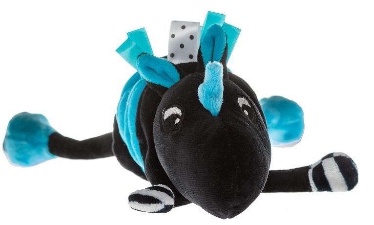 Hencz Toys Vibrující přítulníček Jednorožec - modrý