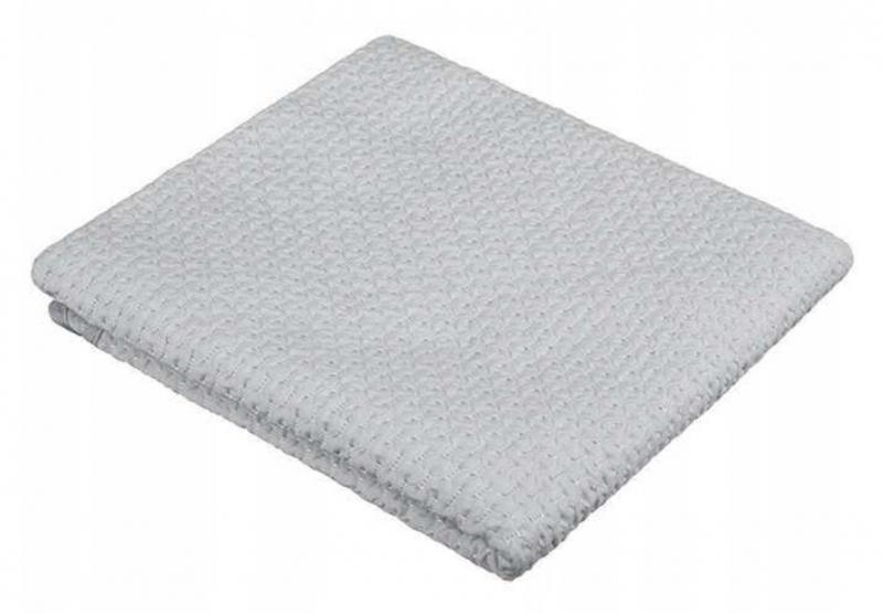 Akuku Dětská bavlněná deka,  80x90 cm, šedá
