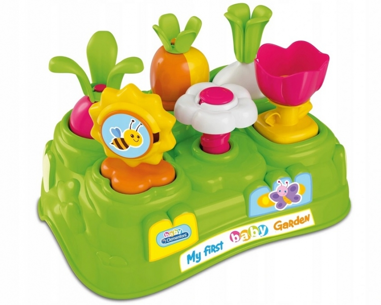Tulimi Edukační vkládačka Zahrada - zelená