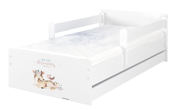 BabyBoo Dětská postel 200 x 90cm -  Sweet Dreams MAX XXL