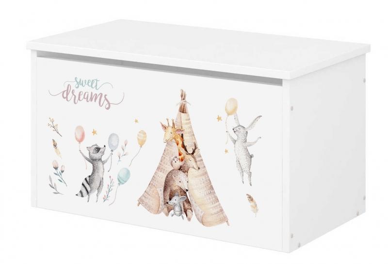 BabyBoo Box na hračky s motivem Sweet Dreams