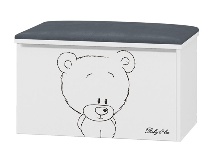 BabyBoo Box na hračky s motivem Medvídek