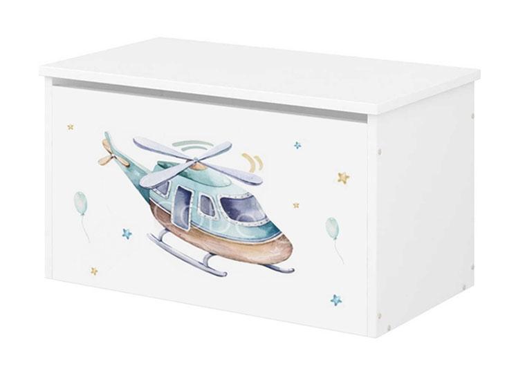 BabyBoo Box na hračky s motivem Letadlo